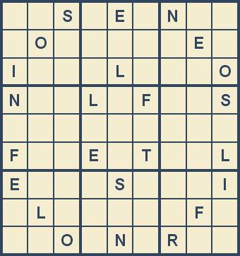 Mystery Godoku Puzzle for January 21, 2008
