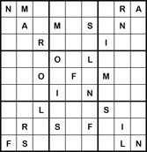 Mystery Godoku Puzzle for July 30, 2012
