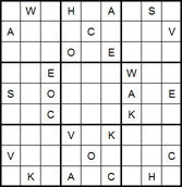 Mystery Godoku Puzzle for June 30, 2014